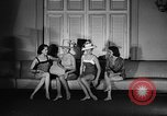 Image of fashion show New York United states USA, 1957, second 33 stock footage video 65675042904