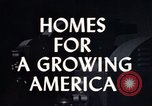 Image of suburban 1950s American homes Lafayette Indiana USA, 1958, second 1 stock footage video 65675042908