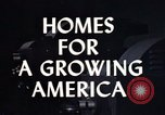 Image of suburban 1950s American homes Lafayette Indiana USA, 1958, second 2 stock footage video 65675042908