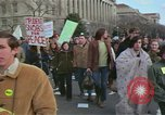 Image of Peace demonstrators protest Vietnam War Washington DC USA, 1969, second 7 stock footage video 65675042915