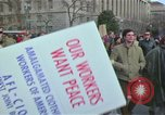 Image of Peace demonstrators protest Vietnam War Washington DC USA, 1969, second 17 stock footage video 65675042915