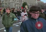 Image of Peace demonstrators protest Vietnam War Washington DC USA, 1969, second 20 stock footage video 65675042915