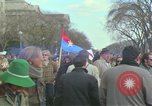 Image of Peace demonstrators protest Vietnam War Washington DC USA, 1969, second 22 stock footage video 65675042915