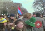 Image of Peace demonstrators protest Vietnam War Washington DC USA, 1969, second 23 stock footage video 65675042915
