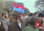 Image of Peace demonstrators protest Vietnam War Washington DC USA, 1969, second 25 stock footage video 65675042915
