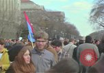Image of Peace demonstrators protest Vietnam War Washington DC USA, 1969, second 26 stock footage video 65675042915