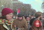 Image of Peace demonstrators protest Vietnam War Washington DC USA, 1969, second 27 stock footage video 65675042915