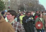 Image of Peace demonstrators protest Vietnam War Washington DC USA, 1969, second 30 stock footage video 65675042915