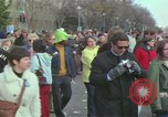 Image of Peace demonstrators protest Vietnam War Washington DC USA, 1969, second 31 stock footage video 65675042915