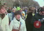 Image of Peace demonstrators protest Vietnam War Washington DC USA, 1969, second 32 stock footage video 65675042915