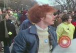 Image of Peace demonstrators protest Vietnam War Washington DC USA, 1969, second 34 stock footage video 65675042915