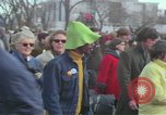 Image of Peace demonstrators protest Vietnam War Washington DC USA, 1969, second 36 stock footage video 65675042915
