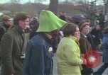 Image of Peace demonstrators protest Vietnam War Washington DC USA, 1969, second 38 stock footage video 65675042915