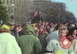 Image of Peace demonstrators protest Vietnam War Washington DC USA, 1969, second 40 stock footage video 65675042915
