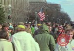 Image of Peace demonstrators protest Vietnam War Washington DC USA, 1969, second 41 stock footage video 65675042915