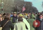 Image of Peace demonstrators protest Vietnam War Washington DC USA, 1969, second 42 stock footage video 65675042915