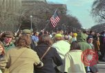 Image of Peace demonstrators protest Vietnam War Washington DC USA, 1969, second 43 stock footage video 65675042915