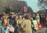 Image of Peace demonstrators protest Vietnam War Washington DC USA, 1969, second 44 stock footage video 65675042915