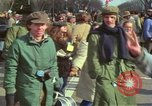 Image of Peace demonstrators protest Vietnam War Washington DC USA, 1969, second 46 stock footage video 65675042915