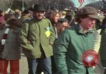 Image of Peace demonstrators protest Vietnam War Washington DC USA, 1969, second 47 stock footage video 65675042915
