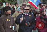 Image of Peace demonstrators protest Vietnam War Washington DC USA, 1969, second 57 stock footage video 65675042915