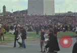 Image of Peace activists march against Vietnam War Washington DC USA, 1969, second 11 stock footage video 65675042916