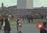 Image of Peace activists march against Vietnam War Washington DC USA, 1969, second 12 stock footage video 65675042916