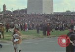 Image of Peace activists march against Vietnam War Washington DC USA, 1969, second 13 stock footage video 65675042916