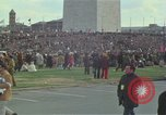 Image of Peace activists march against Vietnam War Washington DC USA, 1969, second 14 stock footage video 65675042916