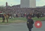 Image of Peace activists march against Vietnam War Washington DC USA, 1969, second 15 stock footage video 65675042916