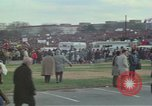Image of Peace activists march against Vietnam War Washington DC USA, 1969, second 18 stock footage video 65675042916