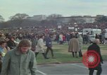 Image of Peace activists march against Vietnam War Washington DC USA, 1969, second 19 stock footage video 65675042916