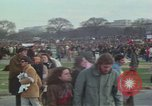 Image of Peace activists march against Vietnam War Washington DC USA, 1969, second 20 stock footage video 65675042916