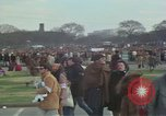 Image of Peace activists march against Vietnam War Washington DC USA, 1969, second 21 stock footage video 65675042916