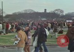 Image of Peace activists march against Vietnam War Washington DC USA, 1969, second 22 stock footage video 65675042916