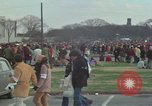 Image of Peace activists march against Vietnam War Washington DC USA, 1969, second 23 stock footage video 65675042916