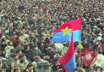 Image of Peace activists march against Vietnam War Washington DC USA, 1969, second 29 stock footage video 65675042916