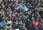 Image of Peace activists march against Vietnam War Washington DC USA, 1969, second 33 stock footage video 65675042916