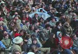 Image of Peace activists march against Vietnam War Washington DC USA, 1969, second 35 stock footage video 65675042916