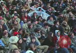 Image of Peace activists march against Vietnam War Washington DC USA, 1969, second 36 stock footage video 65675042916