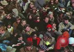 Image of Peace activists march against Vietnam War Washington DC USA, 1969, second 37 stock footage video 65675042916
