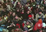 Image of Peace activists march against Vietnam War Washington DC USA, 1969, second 38 stock footage video 65675042916
