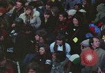 Image of Peace activists march against Vietnam War Washington DC USA, 1969, second 44 stock footage video 65675042916