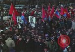Image of Peace activists march against Vietnam War Washington DC USA, 1969, second 49 stock footage video 65675042916