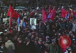 Image of Peace activists march against Vietnam War Washington DC USA, 1969, second 51 stock footage video 65675042916