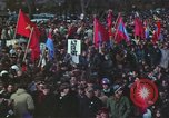 Image of Peace activists march against Vietnam War Washington DC USA, 1969, second 53 stock footage video 65675042916