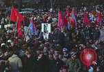 Image of Peace activists march against Vietnam War Washington DC USA, 1969, second 54 stock footage video 65675042916