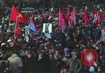 Image of Peace activists march against Vietnam War Washington DC USA, 1969, second 55 stock footage video 65675042916