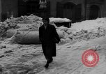 Image of shoveling snow Bludenz Austria, 1954, second 47 stock footage video 65675042927