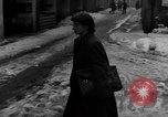 Image of shoveling snow Bludenz Austria, 1954, second 50 stock footage video 65675042927